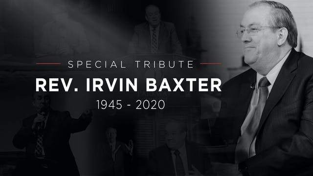 11/04/2020 - Special Tribute: Irvin B...