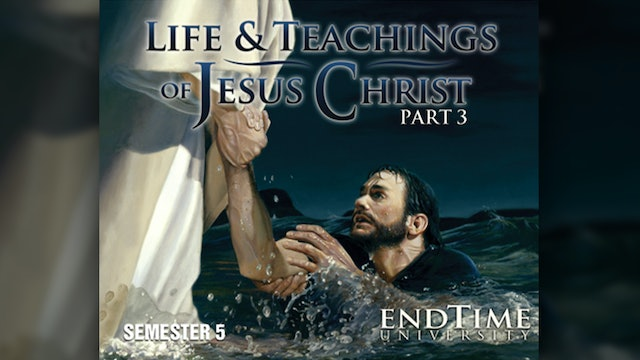 The Life and Teachings of Jesus Christ 3 Workbook