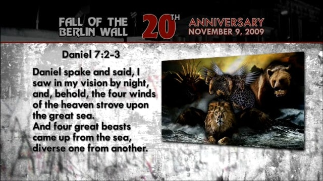The Berlin Wall in Bible Prophecy 1