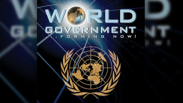 World Government Forming Now