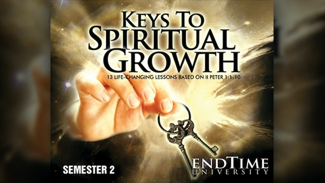 Keys to Spiritual Growth Workbook