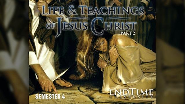 Jesus Teaches Characteristics of Greatness