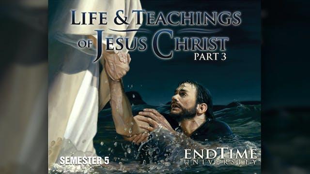 Jesus Prepares to Die While the Chief...