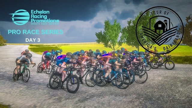 Echelon Racing League - PRO Series - Tour Of America Dairyland - Day 3