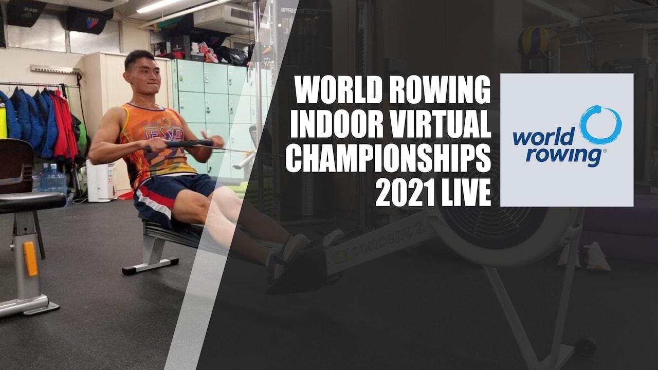 World Rowing Virtual Indoor Championship 2021 LIVE