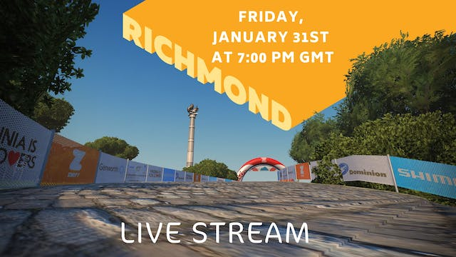 Tour De Zwift 2020 - Richmond