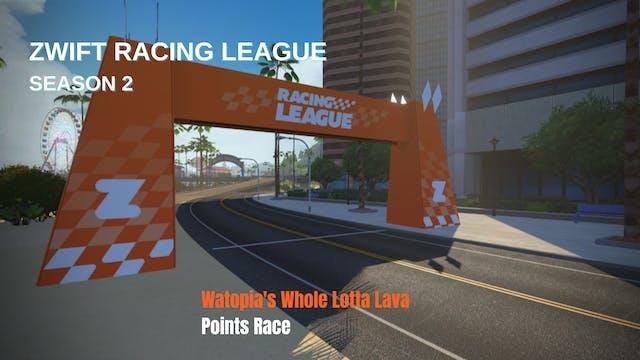 Zwift Racing League Season 2 Race 6 -...
