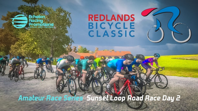 Echelon Racing League - Amateur Series - Redlands Bicycle Classic, day 2