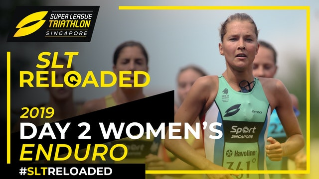 Super League Triathlon Singapore 2019: Day 2 Women's Enduro