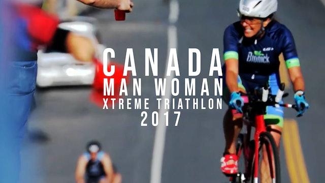 Canada Man Woman Xtreme Triathlon 2017