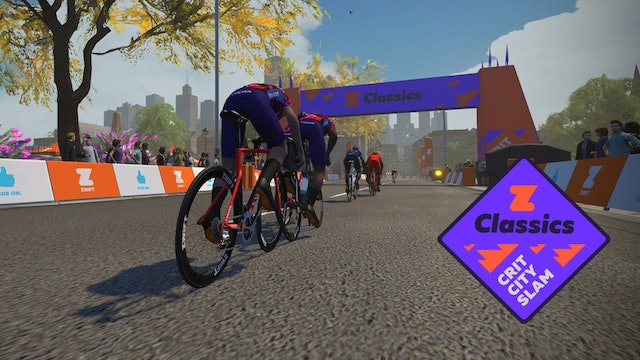 Zwift Classics 2020 - Crit City Slam