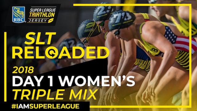 RBC Super League Jersey Triathlon 2018: Day 1 Women's Triple Mix