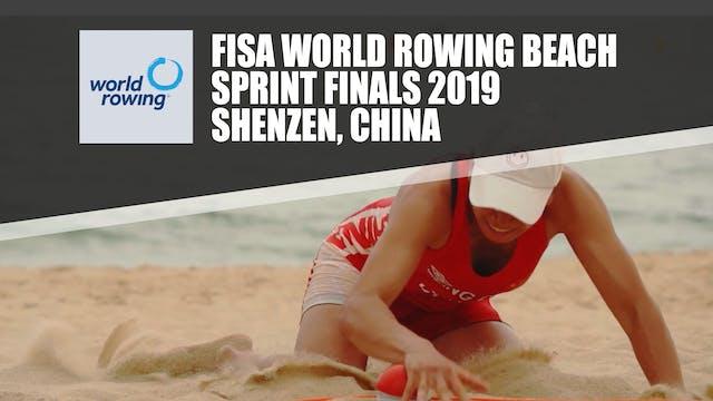 FISA World Rowing Beach Sprint Finals...
