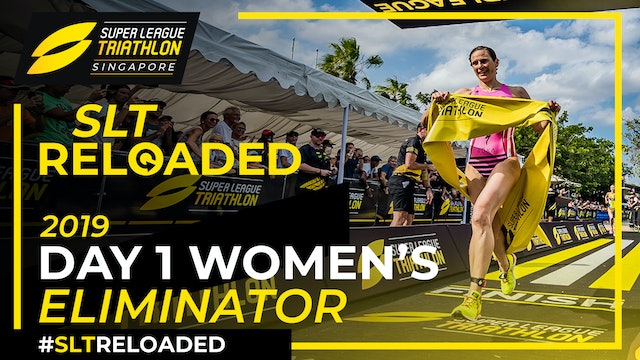 Super League Triathlon Singapore 2019: Day 1 Women's Eliminator