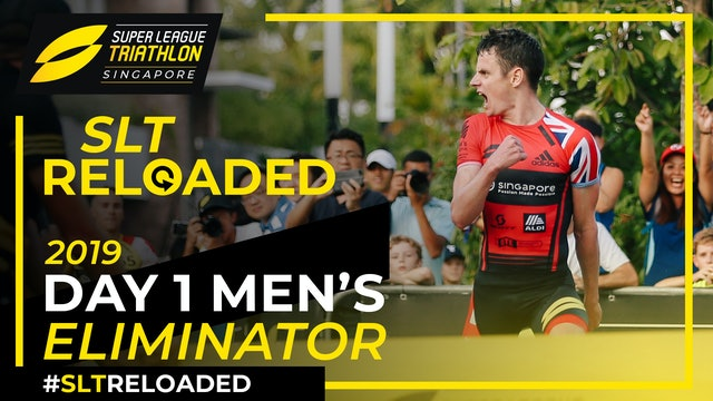 Super League Triathlon Singapore 2019: Day 1 Men's Eliminator