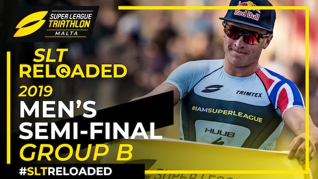 Super League Triathlon Malta 2019: Day 1 Men's Semi-Final Group B