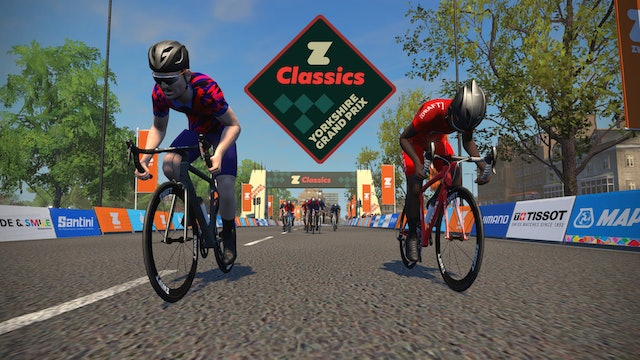 Zwift Classics 2020 -  Yorkshire Grand Prix