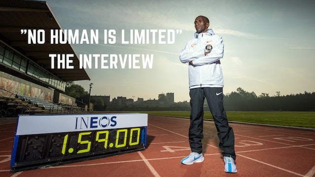 """Eliud Kipchoge Interview """"No Human Is Limited"""""""