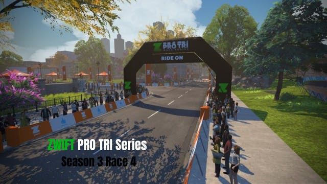 ZPro Tri Season 3 // Race 4