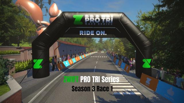 ZPro Tri Season 3 // Race 1