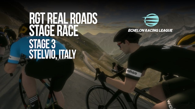 Echelon Racing League - RGT Real Roads Stage 3 / Stelvio, Italy