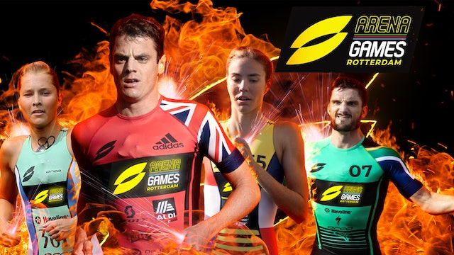 Super League Triathlon ARENA GAMES - Replay