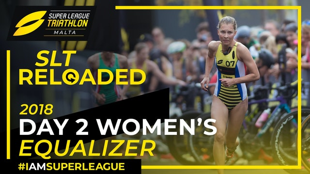Super League Triathlon Malta 2018: Day 2 Women's Equalizer