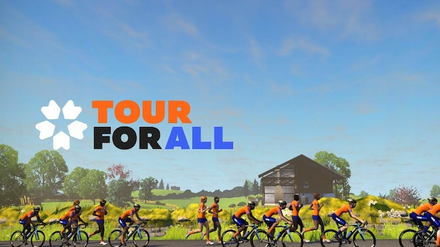 Zwift Tour For All 2020