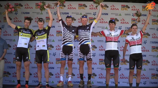 Cape Epic 2016 - Men's Highlights