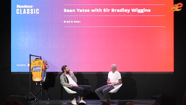 Bradley Wiggins and Sean Yates Interview