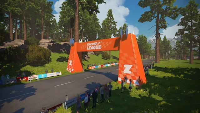 Zwift Racing League, Season 2 Race 3 - Innsbruck's KOM After Party - Points Race