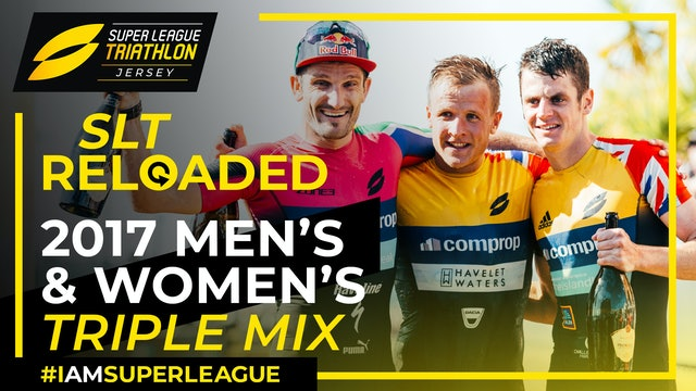 Super League Triathlon Jersey 2017: Day 1 Triple Mix