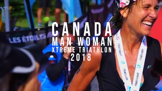 Canada Man Woman Xtreme Triathlon 2018