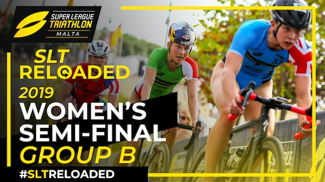 Super League Triathlon Malta 2019: Day 1 Women's Semi-Final Group B