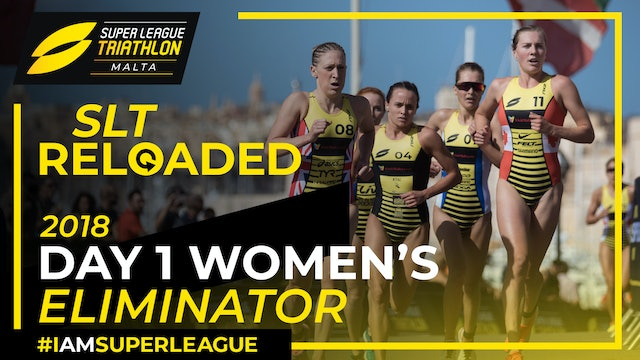Super League Triathlon Malta 2018: Day 1 Women's Eliminator
