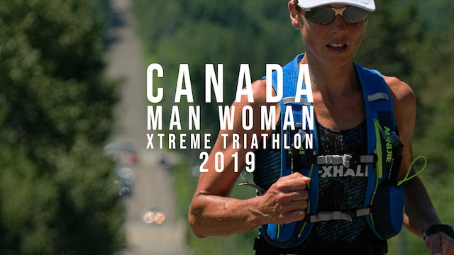 Canada Man Woman Xtreme Triathlon 2019