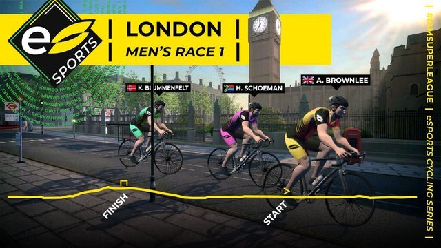 Superleague Men's race - London 8 Reverse Route