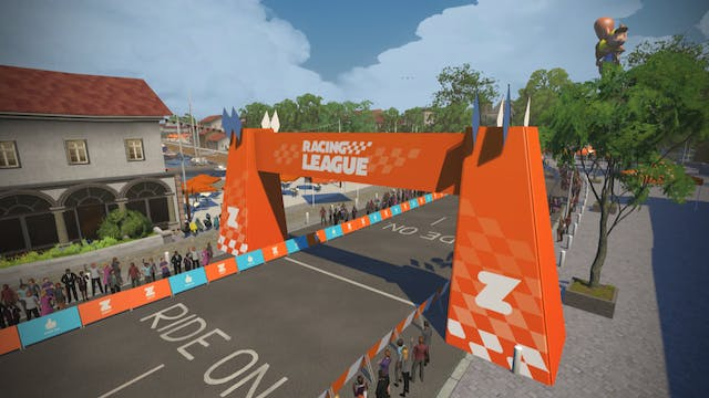Zwift Racing League, Season 2 Race 2 ...