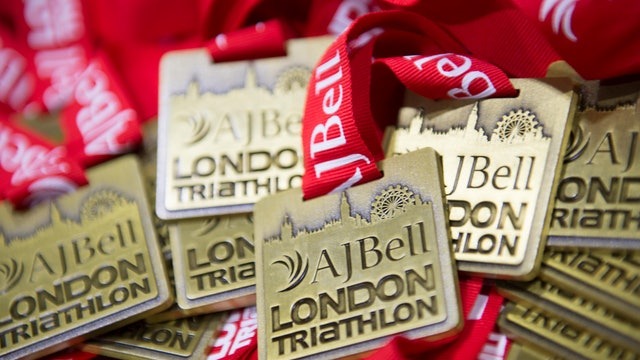 AJ Bell London Triathlon 2015