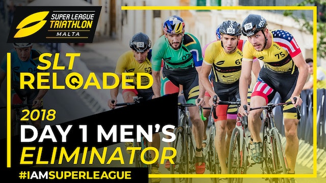 Super League Triathlon Malta 2018: Day 1 Men's Eliminator