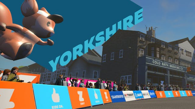 Tour De Zwift 2020 - Yorkshire