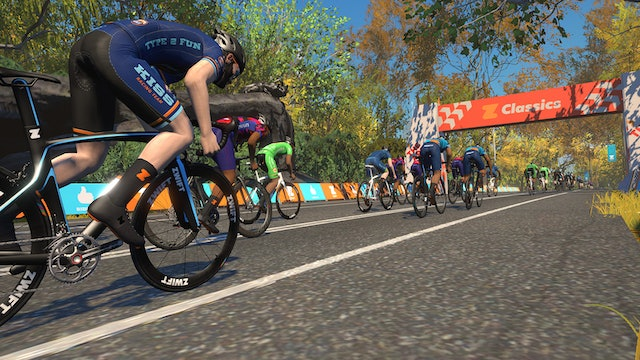 Zwift Classics The Apple Lap