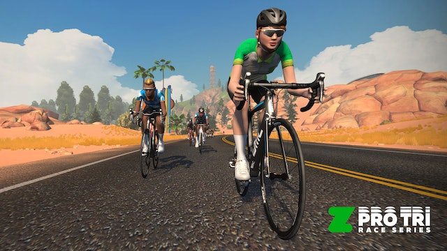 Watch the Zwift Pro Tri Racing – New York