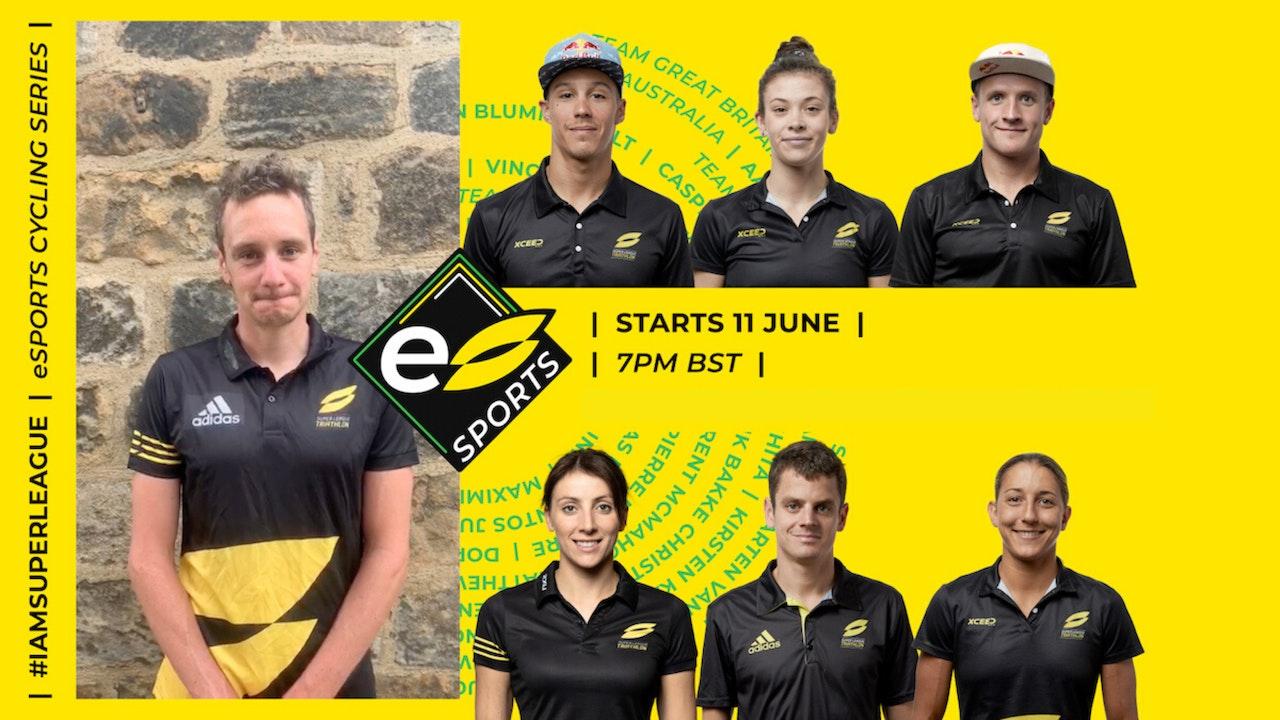 Super League Triathlon e-Cycling series