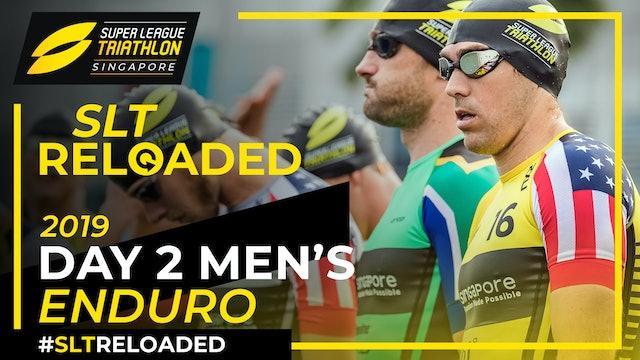 Super League Triathlon Singapore 2019: Day 2 Men's Enduro