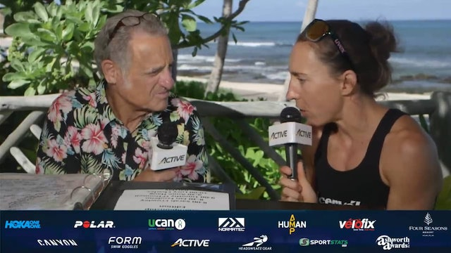 2019 Breakfast with Bob from Kona: Anne Haug, 2019 Ironman World Champion
