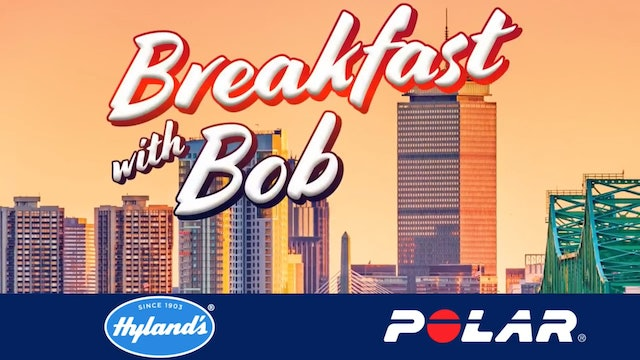 Breakfast with Bob 2018 Boston Edition Dick and Rick Hoyt