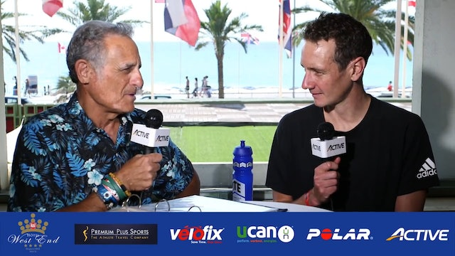 Breakfast with Bob: Nice, France Edition: Alistair Brownlee