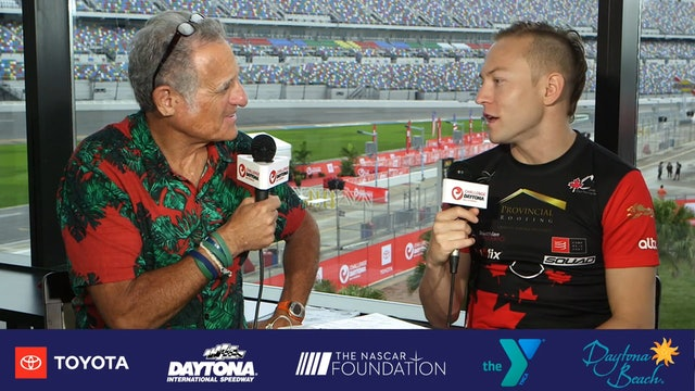 Breakfast with Bob at Challenge Daytona: Taylor Reid