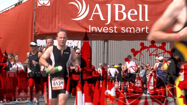 AJ Bell London Triathon 2017
